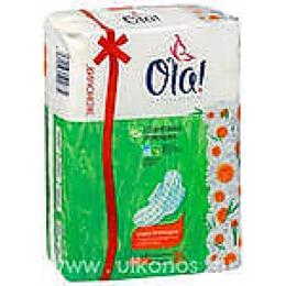 "Ola прокладки ""Wings normal"" солнечная ромашка 16 шт"