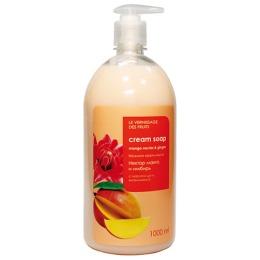 """Fratty нежное крем-мыло для рук и тела """"Нектар манго и имбирь"""", 1 л"""