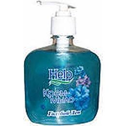 """Help крем-мыло с дозатором """"Голубой лен"""", 300 мл"""