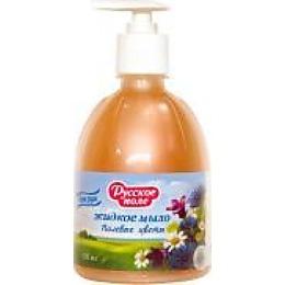 """Русское поле жидкое мыло для рук """"Полевые Цветы"""", 500 мл"""