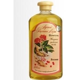 """Рецепты бабушки Агафьи шампунь для сухих и поврежденных волос """"Женьшень"""", 600 мл"""