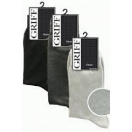 """Griff носки мужские """"Classic a2"""" grigio scuro"""