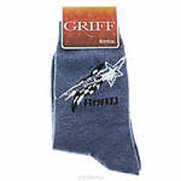 """Griff носки детские унисекс """"B4a3 звезда"""" синие"""