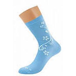 """Griff носки женские """"Цветок по боку d263э фиалка"""