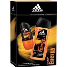 "Adidas набор мужской ""Deep Energy"""