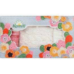 """Kamill подарочный набор """"Стокгольм"""" (Крем для рук и ногтей концентрированный intensive Pluse, 50 мл и Варежки)"""