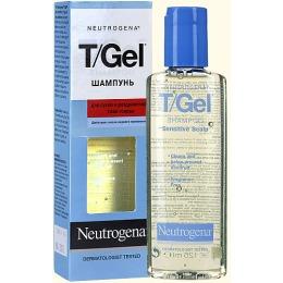 """Neutrogena шампунь """"T/gel """" для сухой и раздраженной кожи головы, 125 мл"""