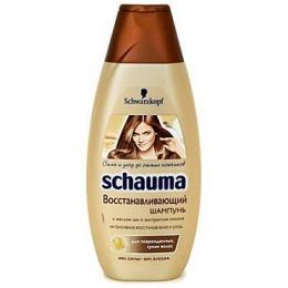 """Schauma шампунь """"Восстанавливающий""""  для поврежденных и сухих волос, 225 мл"""