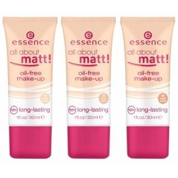 """Essence тональная основа """"All about matt! Oil-free make-up"""""""