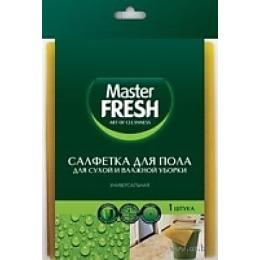Fresh Idea салфетка  для пола универсальная, вискоза, для сухой и влажной уборки, 60Х50