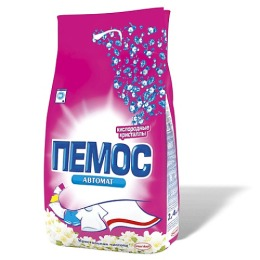 """Пемос стиральный порошок """"Цветок"""" автомат, 2400 г"""