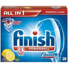 "finish таблетки для посудомоечных машин  ""Finish powerball. All in 1"", 28 шт"
