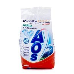 """Aos стиральный порошок """"Белое и Белоснежное"""" автомат, 3 кг"""