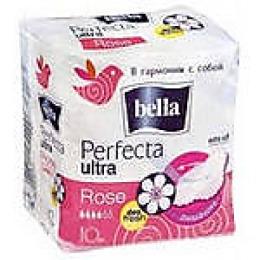 "Bella прокладки ""Perfecta ultra rose deo fresh"" супертонкие, 10 шт"