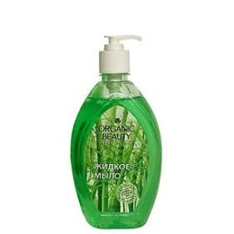 "Organic beauty жидкое мыло ""Бамбук и зеленый чай"", 500 мл"