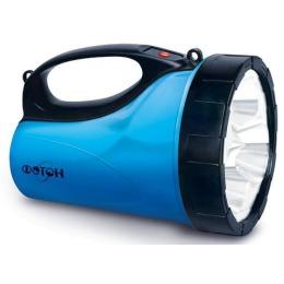 Фотон фонарь аккумуляторный рв-0303 blue 3 х 0,5w светодиода
