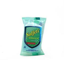 Salfeti влажные салфетки очищающие антибактериальные, 15 шт