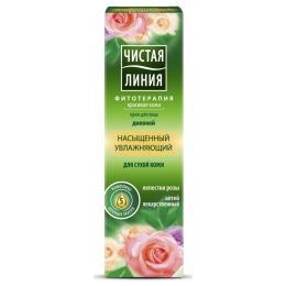 Чистая Линия крем увлажняющий для сухой кожи, дневной, 40 мл