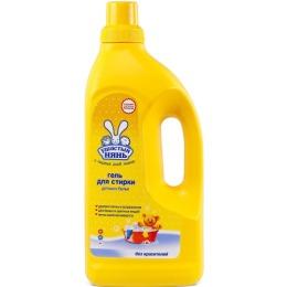 Ушастый Нянь стиральный порошок жидкий для детской одежды, 1,2 л