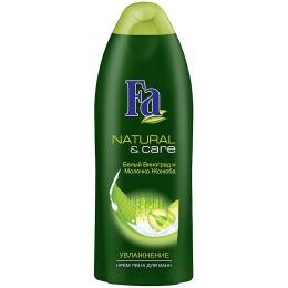 "Fa пена для ванны ""Natural & Power"" белый виноград и молочко жожоба, 500 мл"