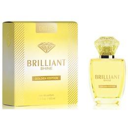 """Dilis parfum туалетная вода для женщин """"brilliant shine golden edition"""", 100 мл"""