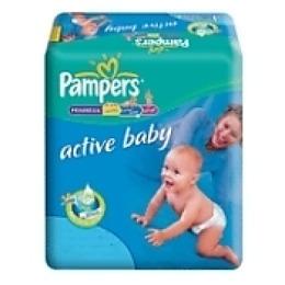 "Pampers подгузники ""Active baby Junior"" 11-25 кг"