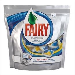 """Fairy средство для мытья посуды """"Platinum. All in 1"""" для посудомоечных машин, в капсулах"""