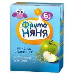 "Фруто Няня напиток ""Яблоко с фенхелем"" с 6 месяцев, 200 мл"