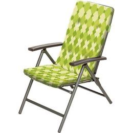 Forester кресло с 5-регулируемой спинкой, мягким наполнителем из хлопка и съемным матрасом, 1 шт