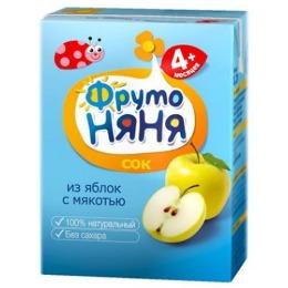 """Фруто Няня сок """"Яблоко"""" с 4 месяцев, 200 мл"""