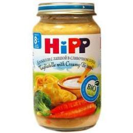 """Hipp пюре """"Брокколи с лапшой в сливочном соусе"""" с 8 месяцев, 220 г"""