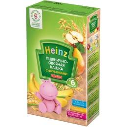 """Heinz кашка """"Пшенично-овсяная с фруктиками"""" с 6 месяцев, 200 г"""