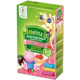 """Heinz кашка """"Слива, яблоко, малина, черника"""" с 12 месяцев, 200 г"""