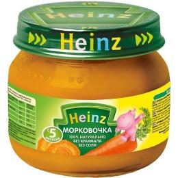 """Heinz пюре """"Морковочка"""" с 5 месяцев, 80 г"""
