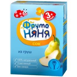 """Фруто Няня сок """"Грушевый"""" с 3 месяцев, 200 мл"""