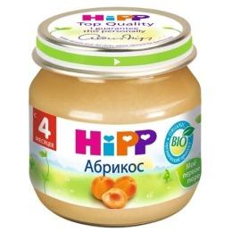 """Hipp пюре """"Абрикосы"""" с 4 месяцев, 80 г"""