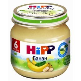 """Hipp пюре """"Банан"""" с 6 месяцев, 80 г"""