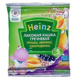 "Heinz кашка молочная ""Гречневая. Грушка, абрикос, смородинка"" с 5 месяцев 30 г"