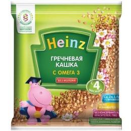 "Heinz кашка ""Гречневая с Омега 3"" с 4 месяцев, 30 г"