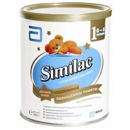 """Similac молочная смесь """"Premium 1"""" 0-6 месяцев, 400 г"""