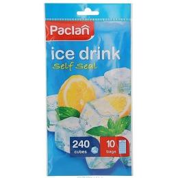 Paclan мешочки для приготовления ледяных кубиков, 10*24 шт