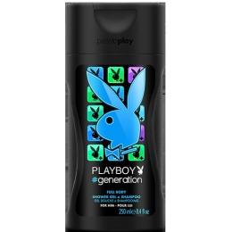 """PlayBoy гель для душа """"Generation"""" парфюмированный, мужской, 250 мл"""