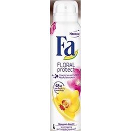 """Fa антиперспирант """"Floral Protect. Орхидея и фиалка"""" спрей, 150 мл"""