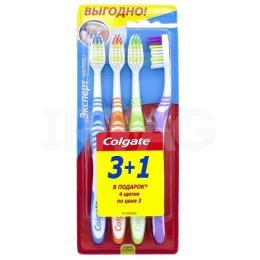 """Colgate зубные щетки """"Эксперт чистоты"""" средней жесткости, 4 шт"""