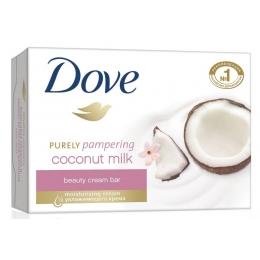"""Dove крем-мыло """"Кокосовое молочко и лепестки жасмина"""", 135 г"""