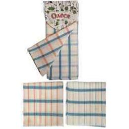 """Bonita набор полотенец """"Олеся. Циан"""" полотняных, 45х60 см, 2 шт"""