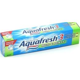 """Aquafresh зубная паста детская """"Мягко мятная"""" 3+, 100 мл"""