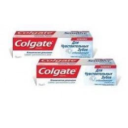 """Colgate зубная паста """"Отбеливающая"""" для чувствительных зубов, 2 шт, 75 мл"""