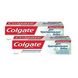 """Colgate зубная паста """"Защита эмали"""" для чувствительных зубов, 2 шт, 75 мл"""