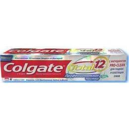 """Colgate зубная паста """"Total 12 Pro. Отбеливание"""", 75 мл"""